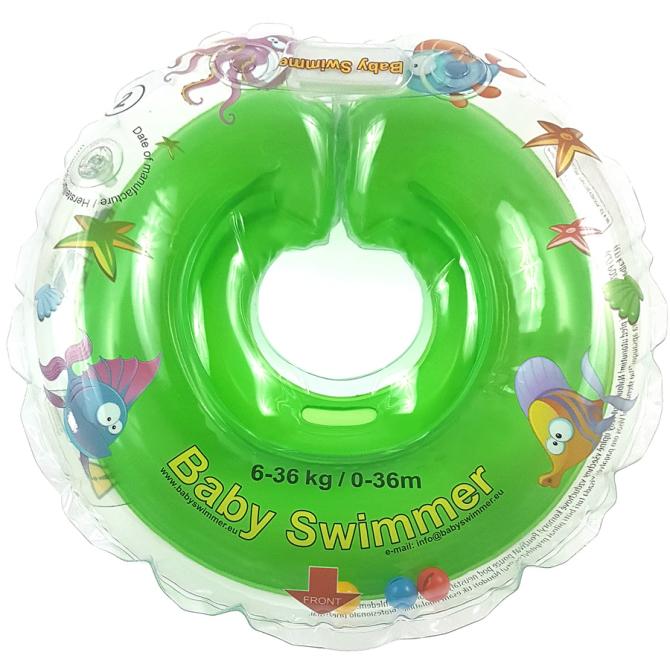 g-babyswimmer-zielony-kołnierz-koło-do-kąpieli-dla-niemowląt-BS11O-B-G-1