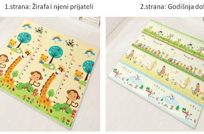 Žirafa i njeni prijateli+Godišnja doba